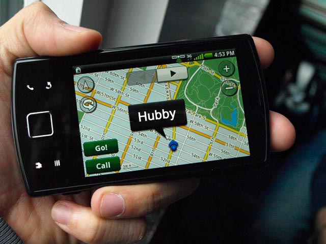 Track my husband via cell phone tracking